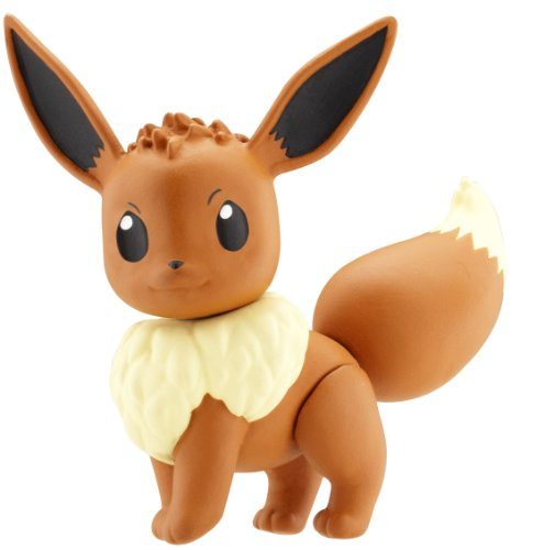 Buy Low Price Jakks Pacific Pokemon HeartGold SoulSilver Series 15 Basic Figure Eevee (B003UFKLX8)