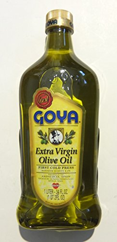 Goya Extra Virgin Olive Oil-34 oz. - First Cold Press (Goya Olive Oil compare prices)