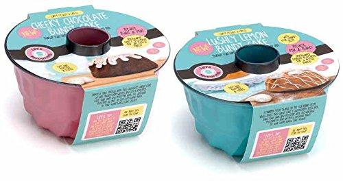 set-permanente-kouglof-moule-en-couleurs-pastel-oe-17-cm-avec-back-melange-rosa-mit-schokoladenkuche