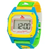 Freestyle Women's FS84862 Shark Clip Digital White Neon Nylon Watch