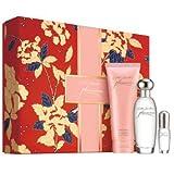 Estée Lauder 'Pleasures' to Go 3 Pcs Gift Set - Pleasures Eau De Parfum Spray (1.7 Oz.) +Body Lotion (3.4 Oz.) + Mini Eau De Parfum Spray (0.14 Oz)
