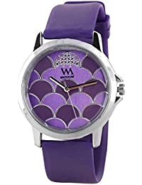 Watch Me Purple Rubber Analogue Watch For Women WMAL-092-PR