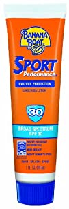 Banana Boat Sport Performance Sunblock Lotion SPF 30 1fl.-Ounce