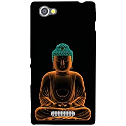 Sony Xperia M Back Cover - Meditation Designer Cases