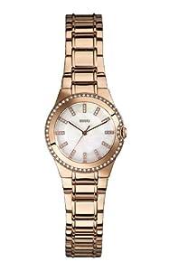Guess Damen-Armbanduhr Analog Quarz Edelstahl W0110L1