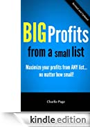 BIG Profits from a small list - Maximize your profits from ANY mailing list... no matter how small! [Edizione Kindle]