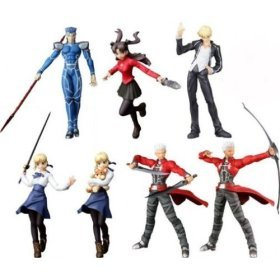 Fate/Stay Night : 7 Trading Figures