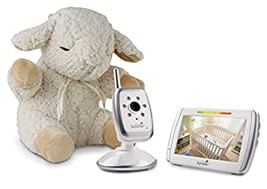 Summer Infant Wide View Video Monitor with Sleep Sheep Soothing Sound Machine