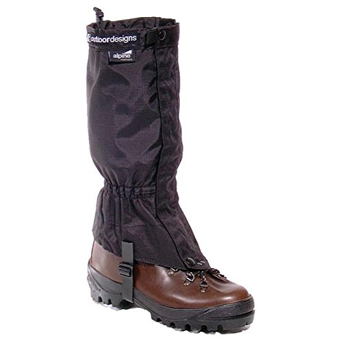 Outdoor Designs Alpine Gaiters Black/Small