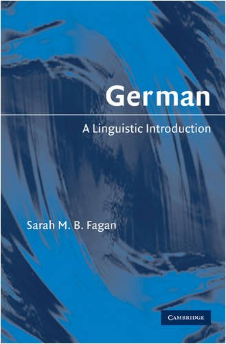 German: A Linguistic Introduction