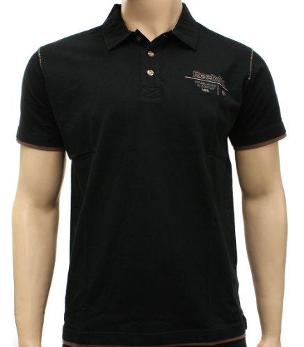 Reebok Mens Club S/S Polo Shirt Size XL