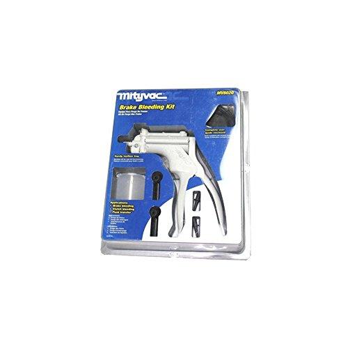 Mityvac MV8020 Automotive Test Tune-up Brake Bleeding Kit Silverline Bleeder NEW