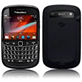 Blackberry Bold 9900 Gel Skin Case / Cover - Black PART OF THE QUBITS ACCESSORIES RANGEby TERRAPIN