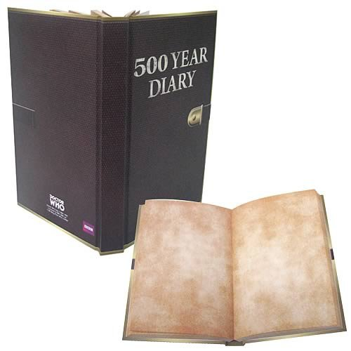 DR WHO 500 YEAR DIARY JOURNAL - 1