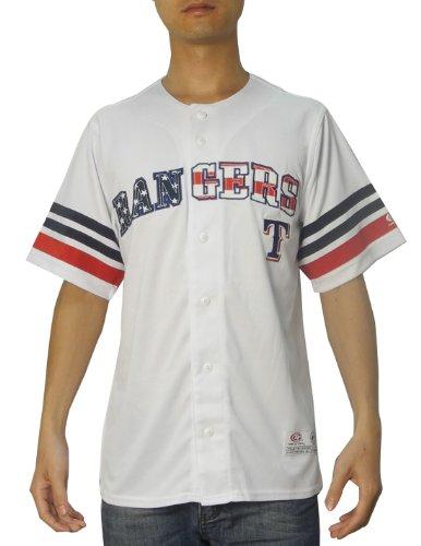 LIMITED EDITION: MLB Mens Texas Rangers Baseball Dri Fit Athletic Top 2XL White