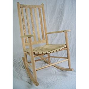 Standard Adult Slat Porch Rocking Chair Finish: Unfinished by Dixie Seating Company