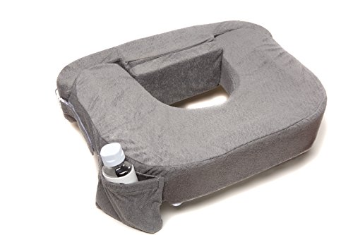 My Best Friend Twin Deluxe Nursing Pillow Evening, Dark Grey - 1