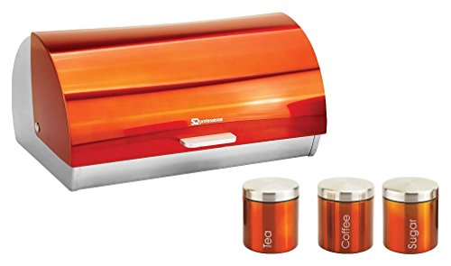 sq-professional-gems-metallic-bread-bin-and-canisters-orange-amber