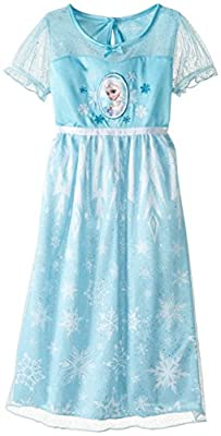 Disney Big Girls' FROZEN Dressy Gown