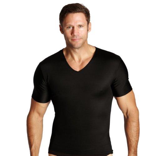 <b>Men's Compression Short Sleeve V-neck Shirt</b>
