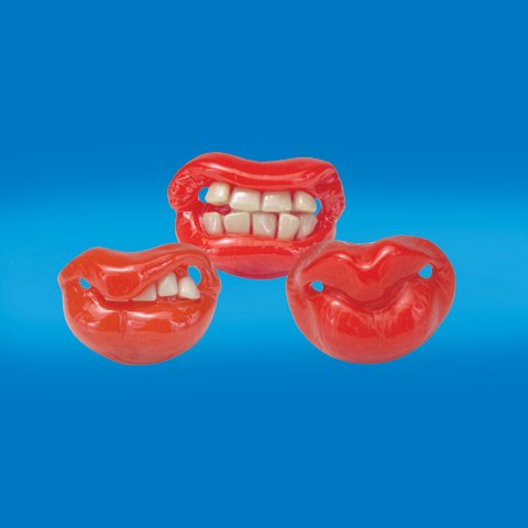 Billy Bob Teeth Pacifier front-368487