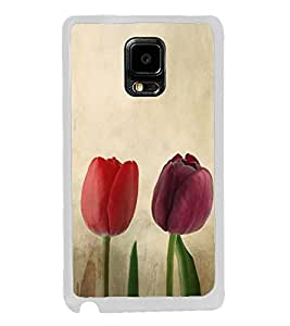 Colourful Tulips 2D Hard Polycarbonate Designer Back Case Cover for Samsung Galaxy Note Edge :: Samsung Galaxy Note Edge N915FY N915A N915T N915K/N915L/N915S N915G N915D