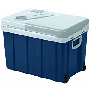 Mobicool W40 Thermo-Electric Cool Box, Blue/ Grey, 39 L, 12-24-230V AC/DC