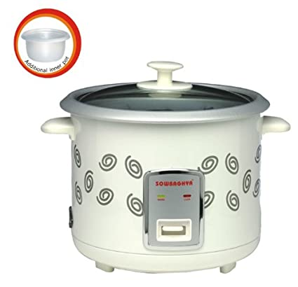SOWBAGHYA Annam Plus 1.8 Litre Electric Rice Cooker