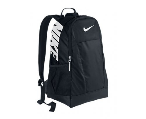NIKE Team Training Medium Backpack, Black/White