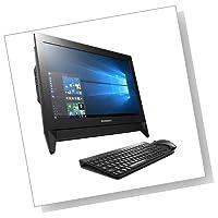 【KINGSOFT Officeセット】Lenovo C20 F0BB0020JP Windows10 Home 64Bit Celeron デユアルコア 4GB 500GB DVDスーパーマルチ 無線LANac/a/b/g/n 省スペース19.5型液晶一体型デスクトップパソコン