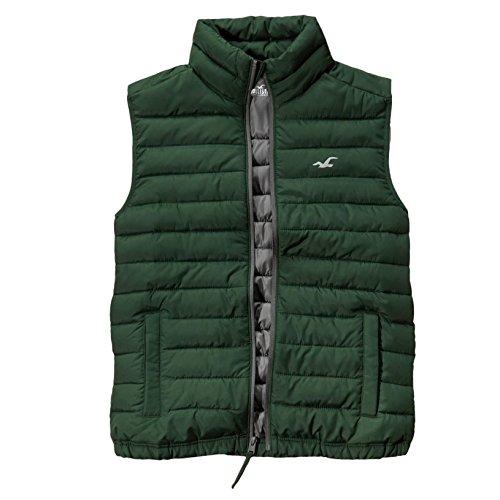 hollister-herren-lightweight-puffer-vest-weste-jacket-grosse-large-grun-623332132
