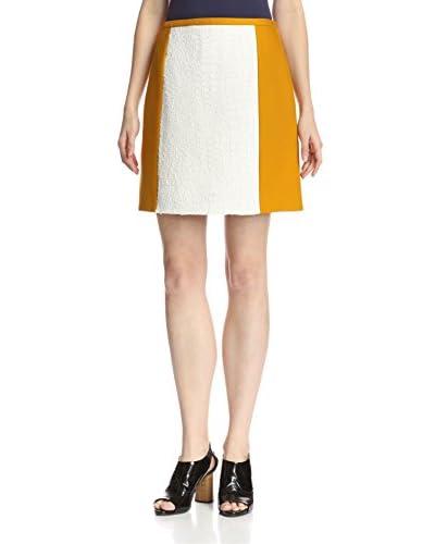Carven Women's Plywood Natte Skirt