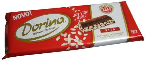 Milk Chocolate with puffed Rice 220g