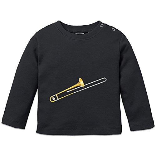 Posaune-Baby-Langarmshirt-by-Shirtcity