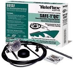 New Teleflex Safe-T Quick Connect Boat Steering System 17 Ft. Ss13717