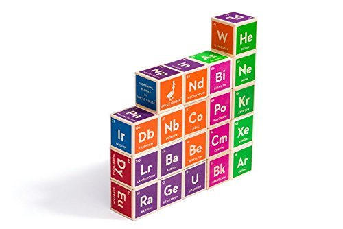 Uncle Goose Periodic Table Blocks Made In Usa Every Thing Baby
