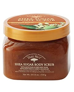 Tree Hut Shea Sugar Body Scrub - Hawaiian Kukui: 18 OZ