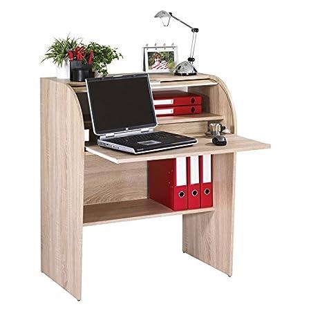 SIMMOB coach100cn escritorio Cilindro madera roble Natural 56,5x 84,8x 100cm