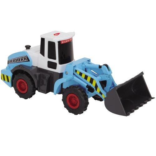 Dickie Liebherr Kinder Spielzeug Bagger Radlader Friktionsmotor Spielzeugautos