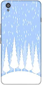 Snoogg Snow time 2374 Hard Back Case Cover Shield For One Plus X / Oneplus X