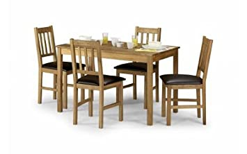 Coxmoor Oak Dining Table And 4 Chair