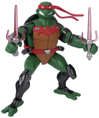 Buy Low Price Playmates Teenage Mutant Ninja Turtles: Fast Forward 5″ Raphael Action Figure (B000JH150S)