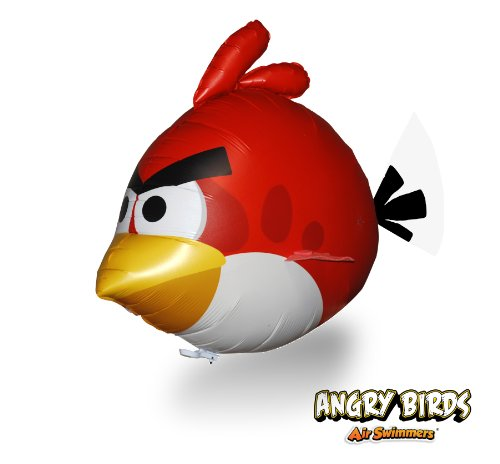 Imagen de Angry Birds Air Swimmers Turbo - RED Flying Balloon control remoto de juguete