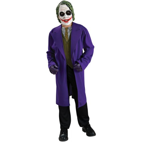 Batman The Dark Knight Joker Costume Boy - Child 8-10