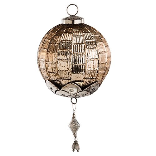 dekoh nger lydia mit ornament antikgold glaskugel. Black Bedroom Furniture Sets. Home Design Ideas