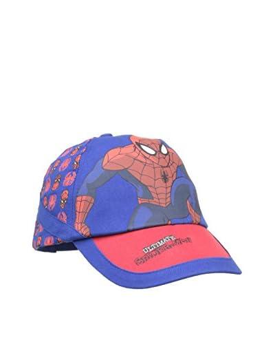 MARVEL Cappellino con Visiera Ultimate Spider Man [Blu]