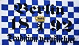 Berlin Tradition verpflichtet Fussball Fahne Flagge Grsse 1,50x0,90m - FRIP -Versand