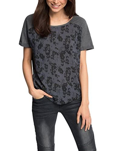 edc by ESPRIT T-Shirt Manica Corta [Antracite]