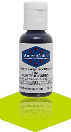 Americolor Gel Paste Food Color, Electric Green (Americolor Electric Colors compare prices)