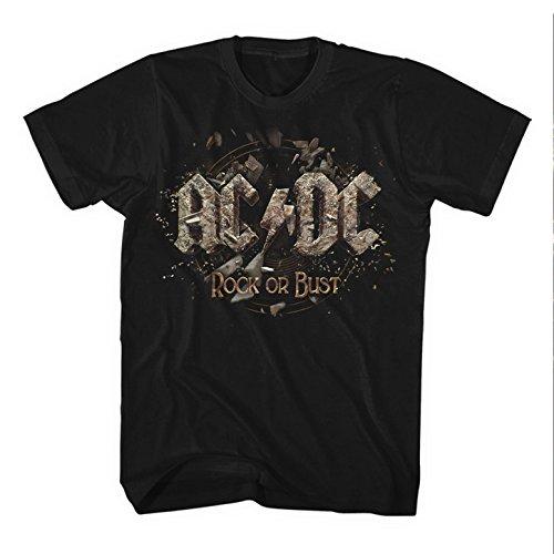 AC/DC T-SHIRT ROCK OR BUST GR: M VORBESTELLEN LIEFERBAR 12.1.2015 NEU